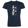 T-shirt flexion marine