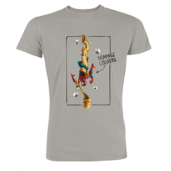 T-shirt Dommage collatéral - Spiderman