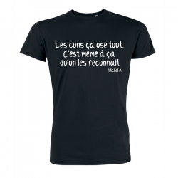 T-shirt con ca ose tout